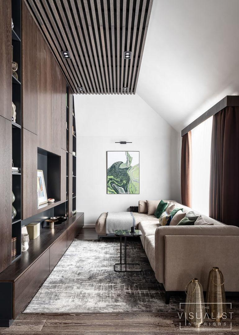 Дизайн интерьера загородных домов